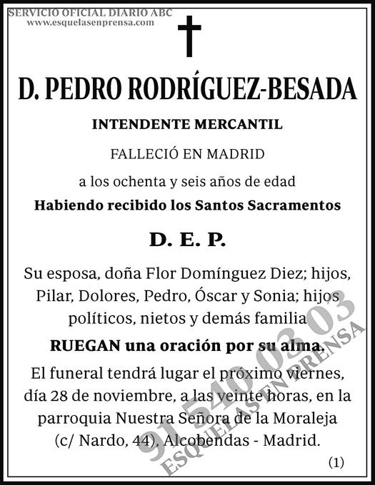 Pedro Rodríguez-Besada